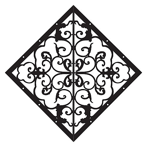 Diamond Fence & Gate Accent