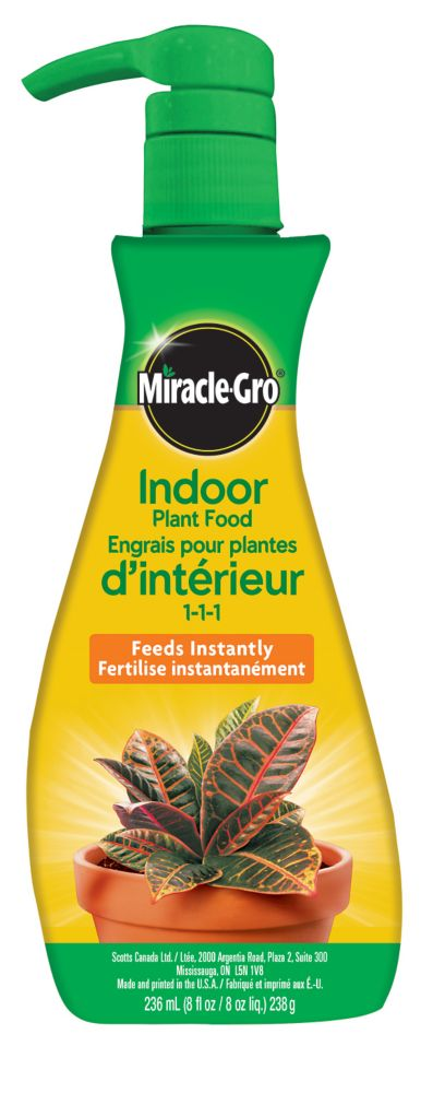 Miracle-Gro 236 mL Indoor Plant Food Foam