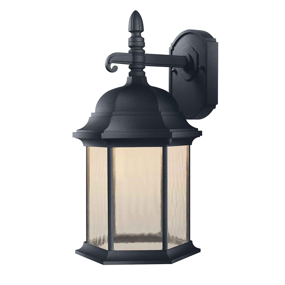 Hampton Bay Oxford Exterior Led Decorative Light 17 5 In