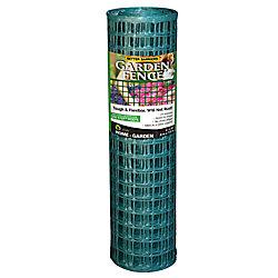 Quest Plastics Clôture de jardin, vert
