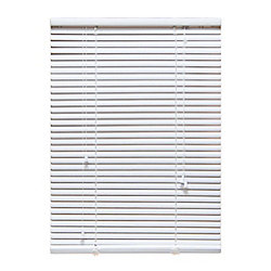 "Perfect Home Essentials 24 in. x 72 in. White 1"" Aluminum Blind"