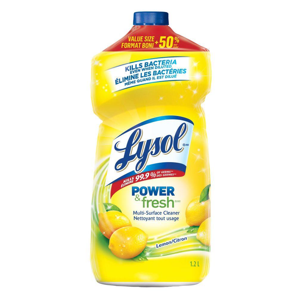 Nettoyant tout usage - parfum de citron 1.2 l