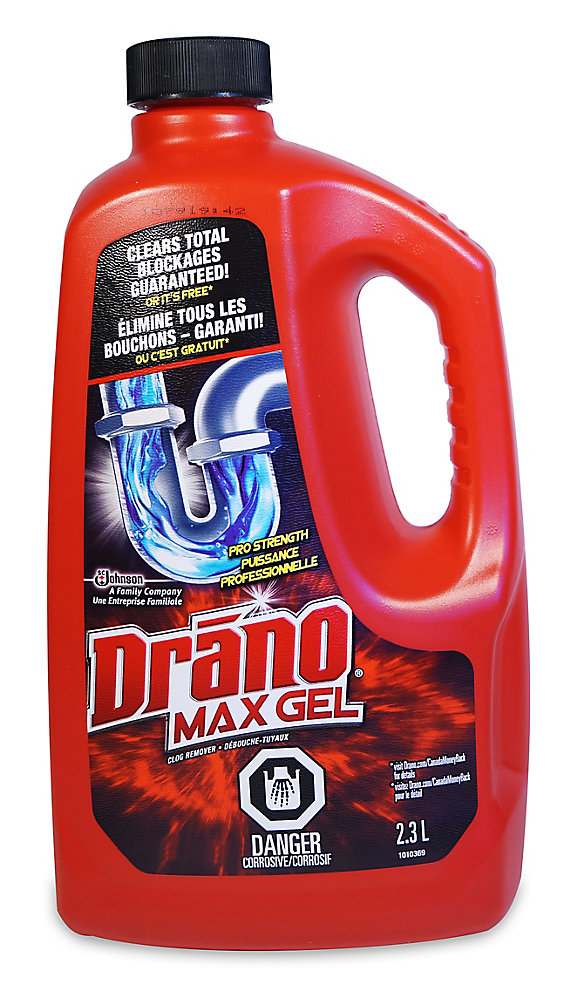 Max Gel 2 3L Clog Remover Drain Cleaner