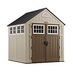 7 ft. x 7 ft. Blow Molded Storage Shed