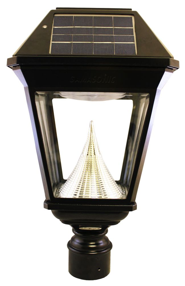 """Lanterne solaire simple de poteau de 3"""" Imperial II"""