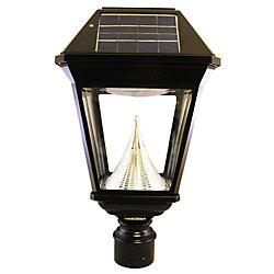 """Gama Sonic Lanterne solaire simple de poteau de 3"""" Imperial II"""