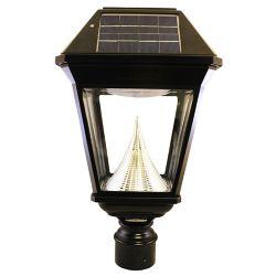 Gama Sonic Imperial II Solar Lantern 3 Inch Single Fitter