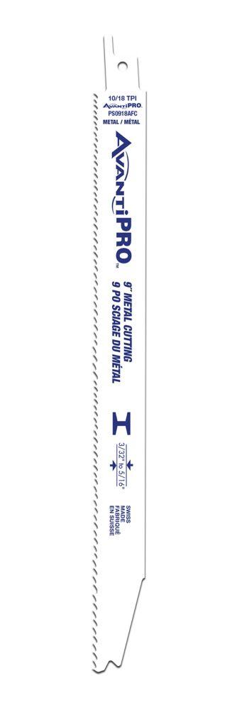 Avanti Pro 9 in. 10/18TPI Prog. Tooth Metal Cutting Saw
