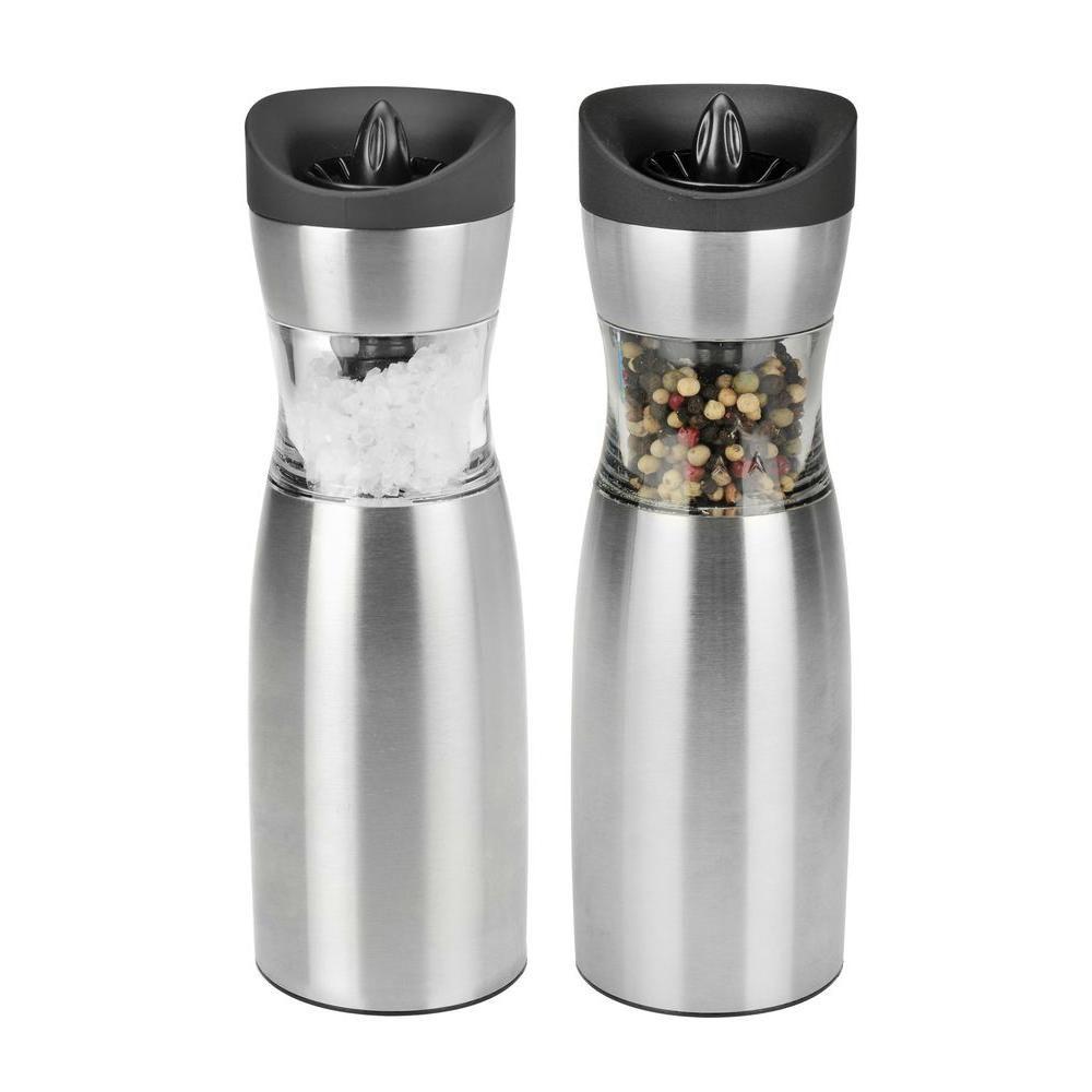 Gravity Salt and Pepper Grinder Set
