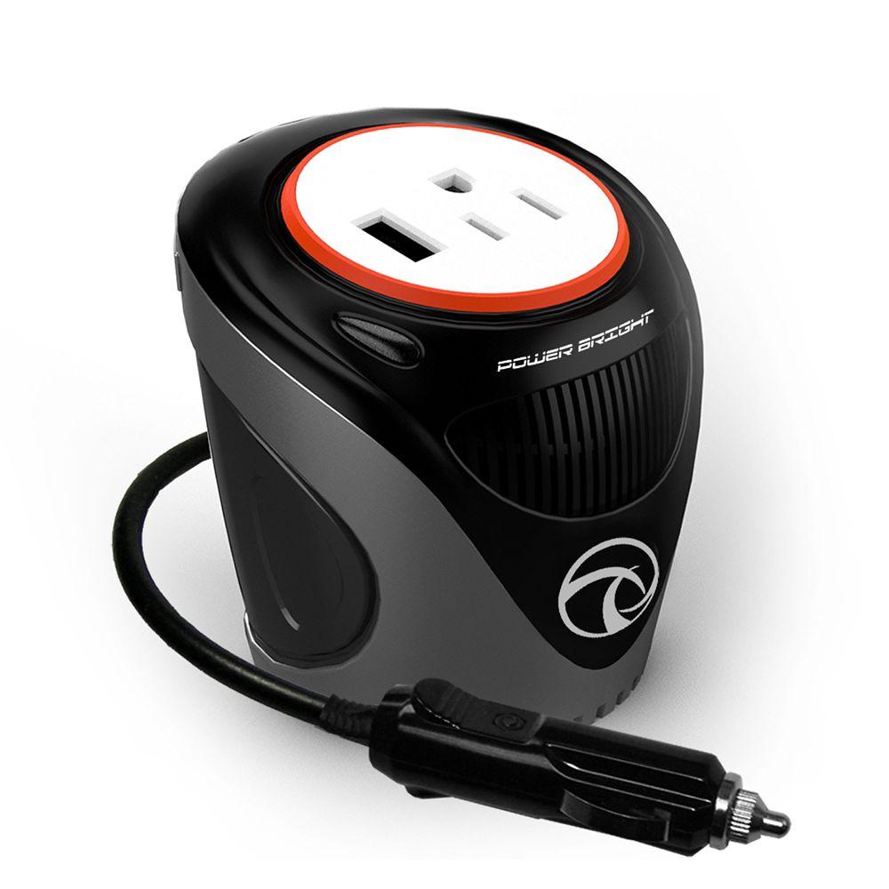 120 Watt 12V Cup Inverter