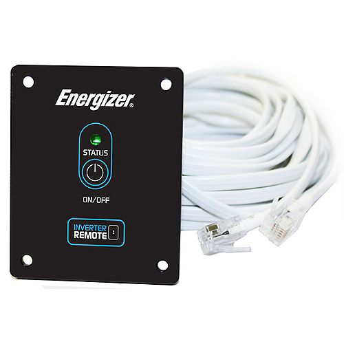 Energizer Remote Control With 20 Feet Cable