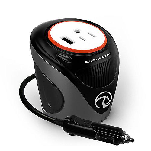180 Watt 12V Cup Inverter