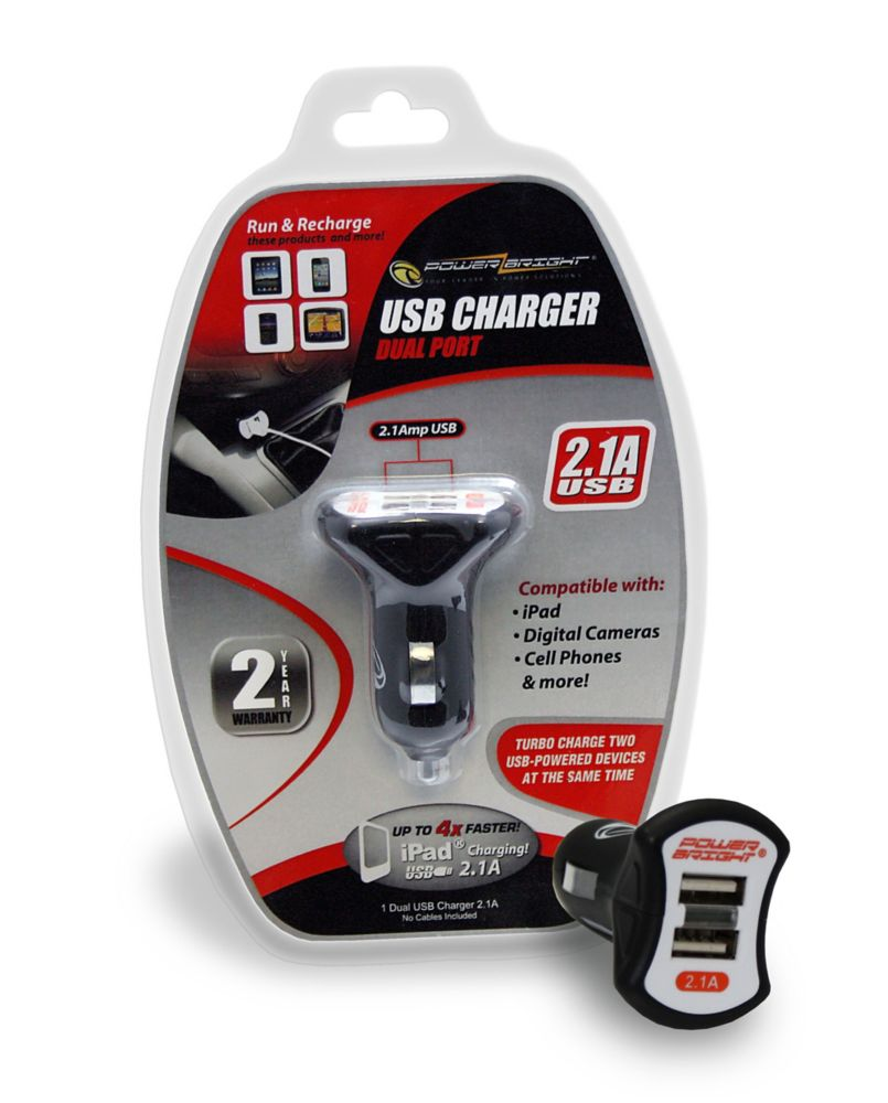 Chargeur USB double 2.1A (partagee)