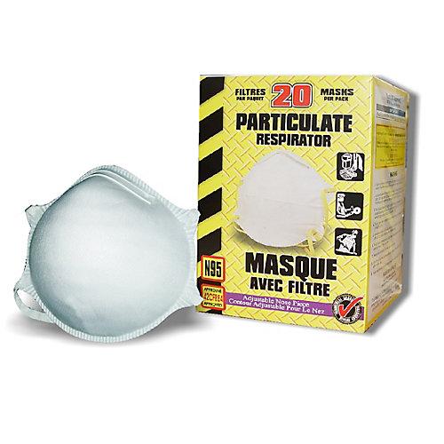 Bulk N95 Disposable Particulate Respirator (140 units)