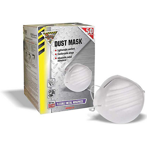 Bulk Disposable Non-Toxic Dust Mask (550-Pack)