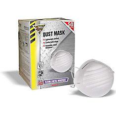 Bulk Disposable Non-Toxic Dust Mask 50 pk (total 550 units)