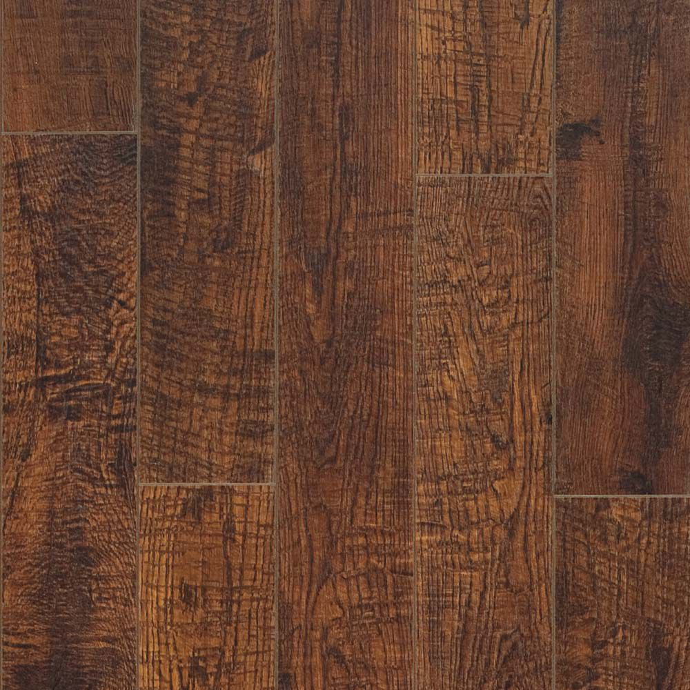 10mm Hand Sawn Oak Laminate Flooring (13.10 sq. ft. / case)