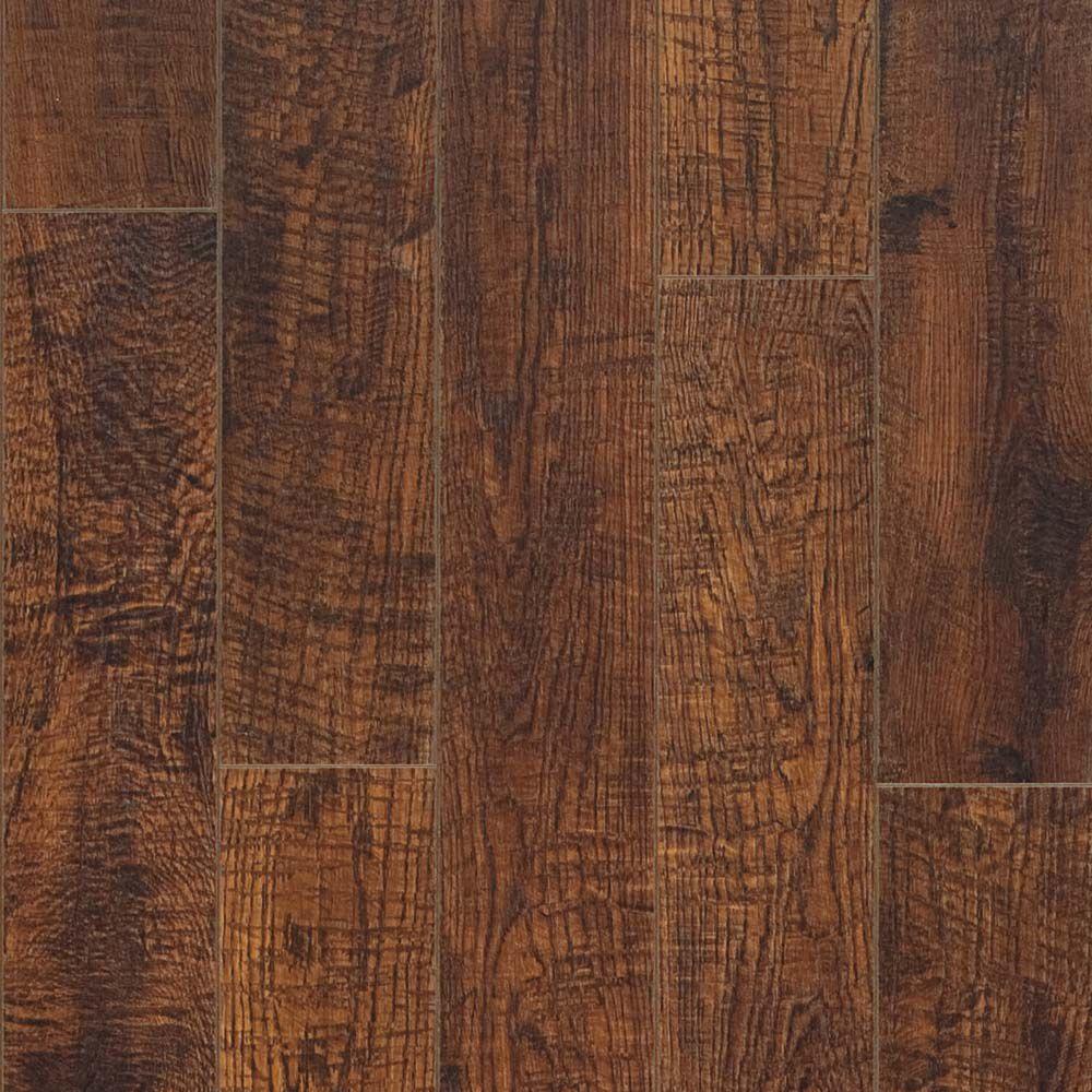 10mm Hand Sawn Oak Laminate Flooring (13.10 sq. ft. / case)