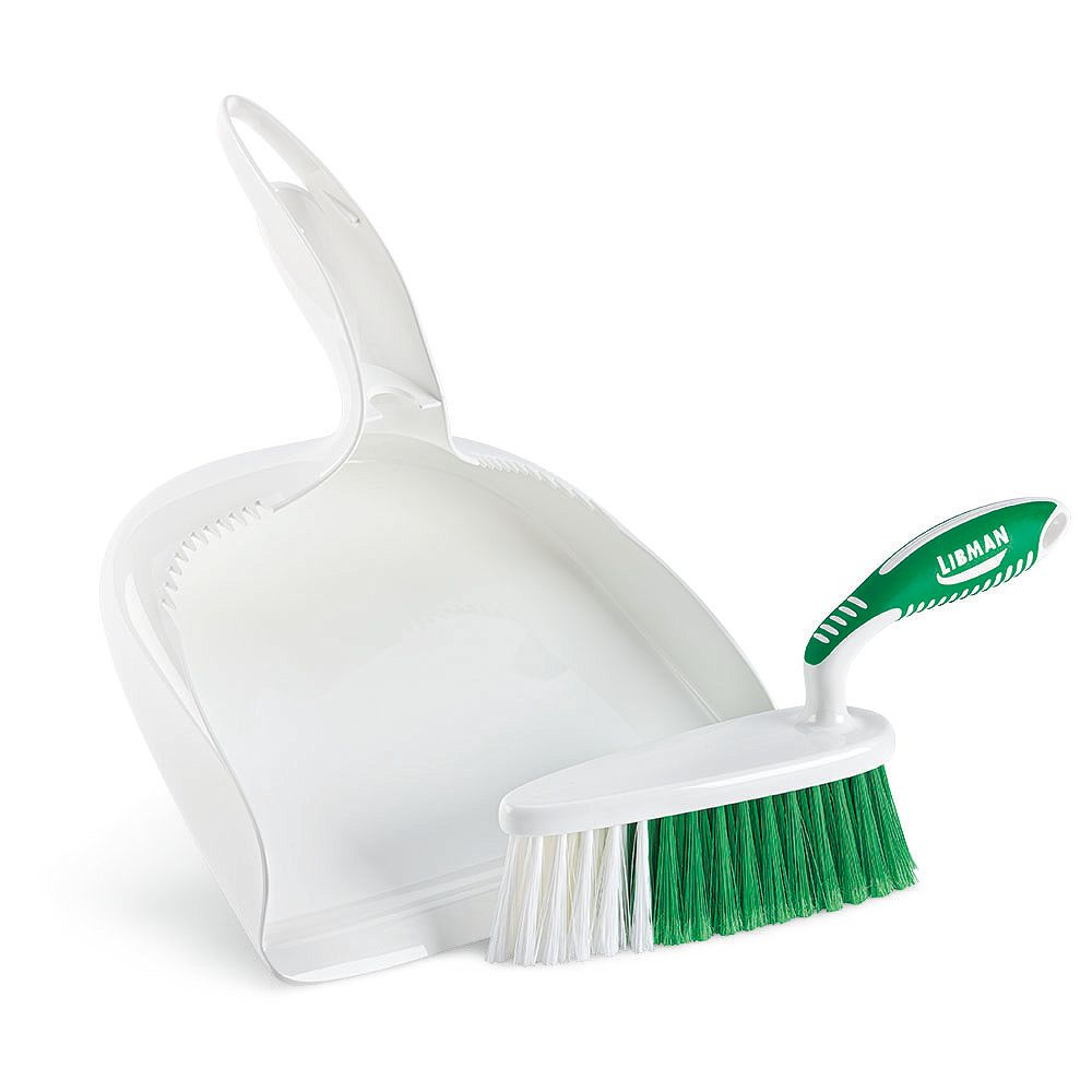 Libman Dust Pan and Brush Set with Large Well