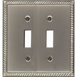 Atron Double Toggle Solid Brass Pewter Finish