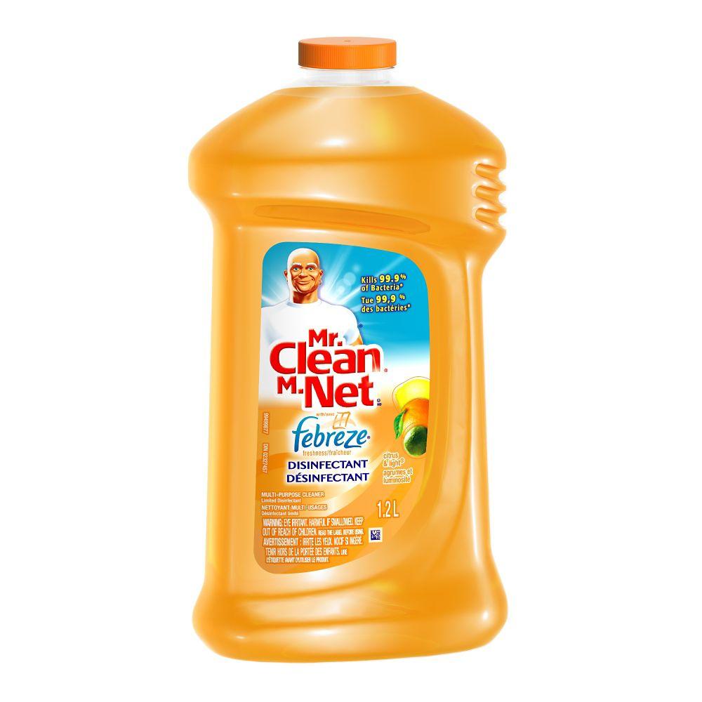 Mr Clean Liq W/Fbrz Citrs&Lght 1.2L 84823455 Canada Discount