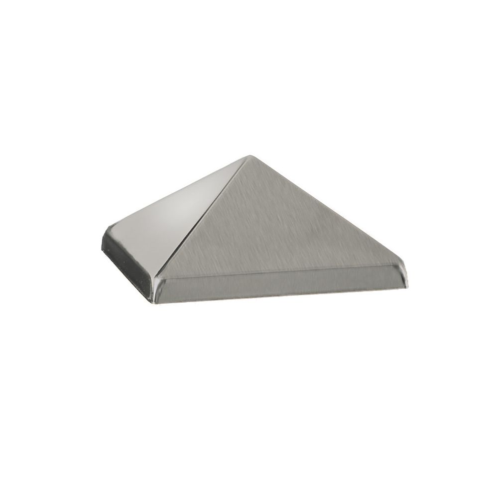 4x4 Post Cap - Post Point Stainless Steel