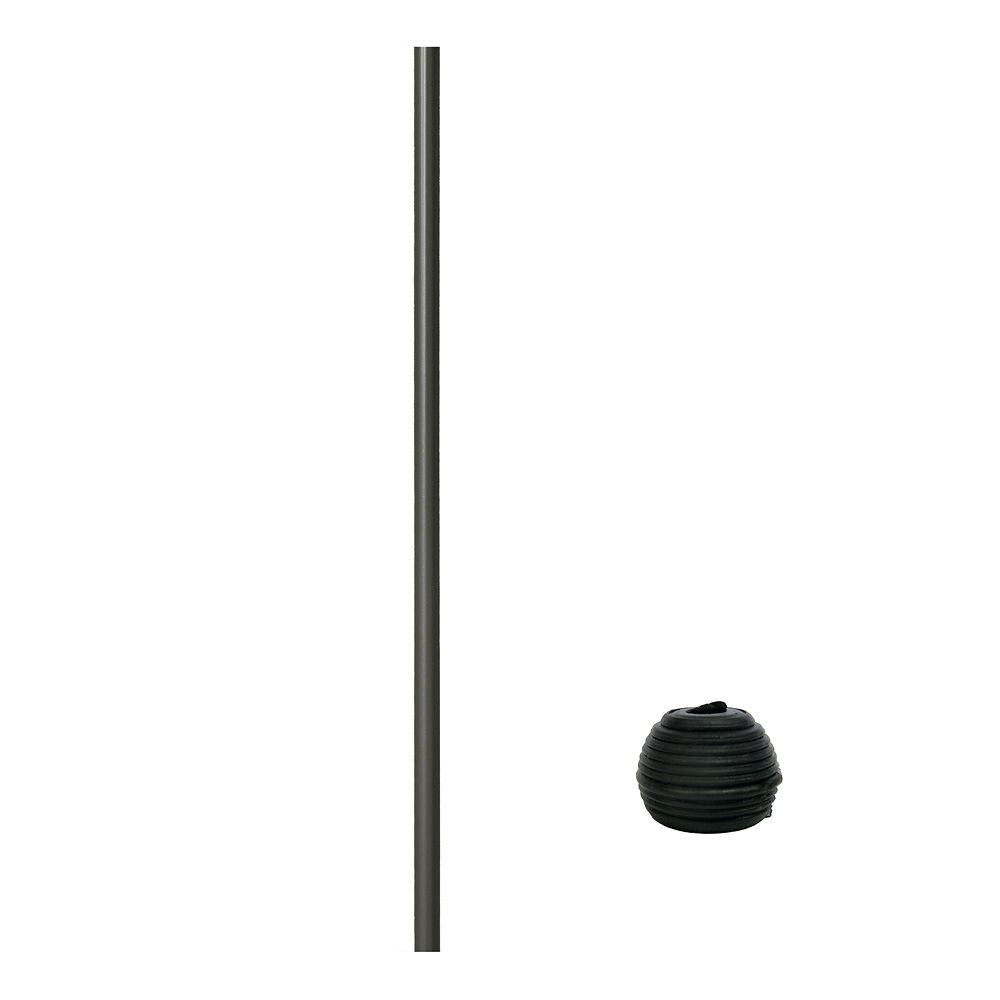 32 in Aluminum Baluster Round with Fastball Connectors included - 15 pack - Bronze