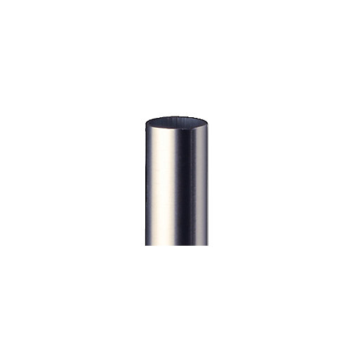 32 in aluminum baluster round  stainless, connectors included, (15-Pack)