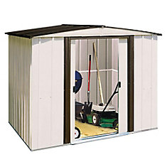Arrow Newport 8 ft. x 6 ft. Steel Shed