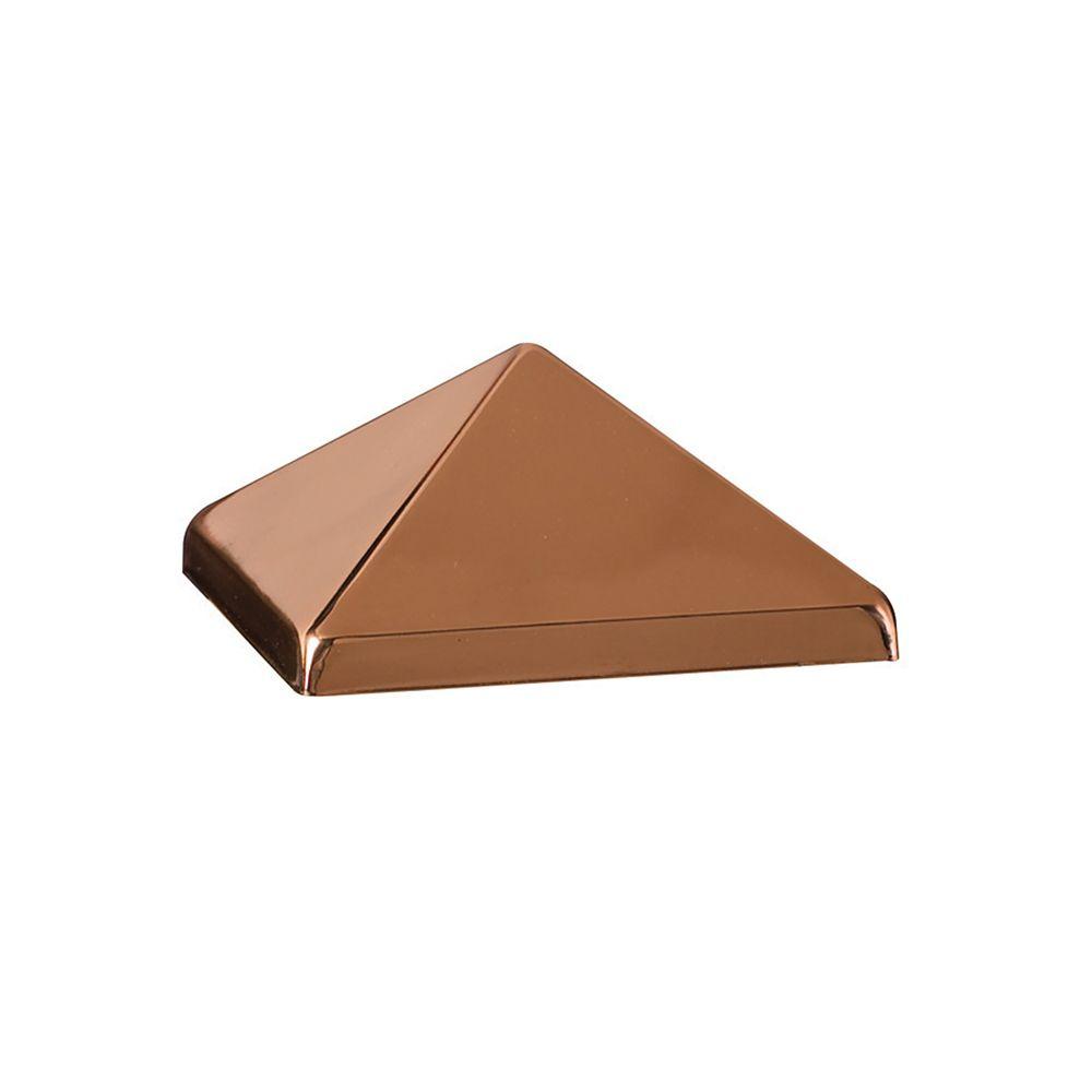 4x4 Post Cap - Post Point Copper