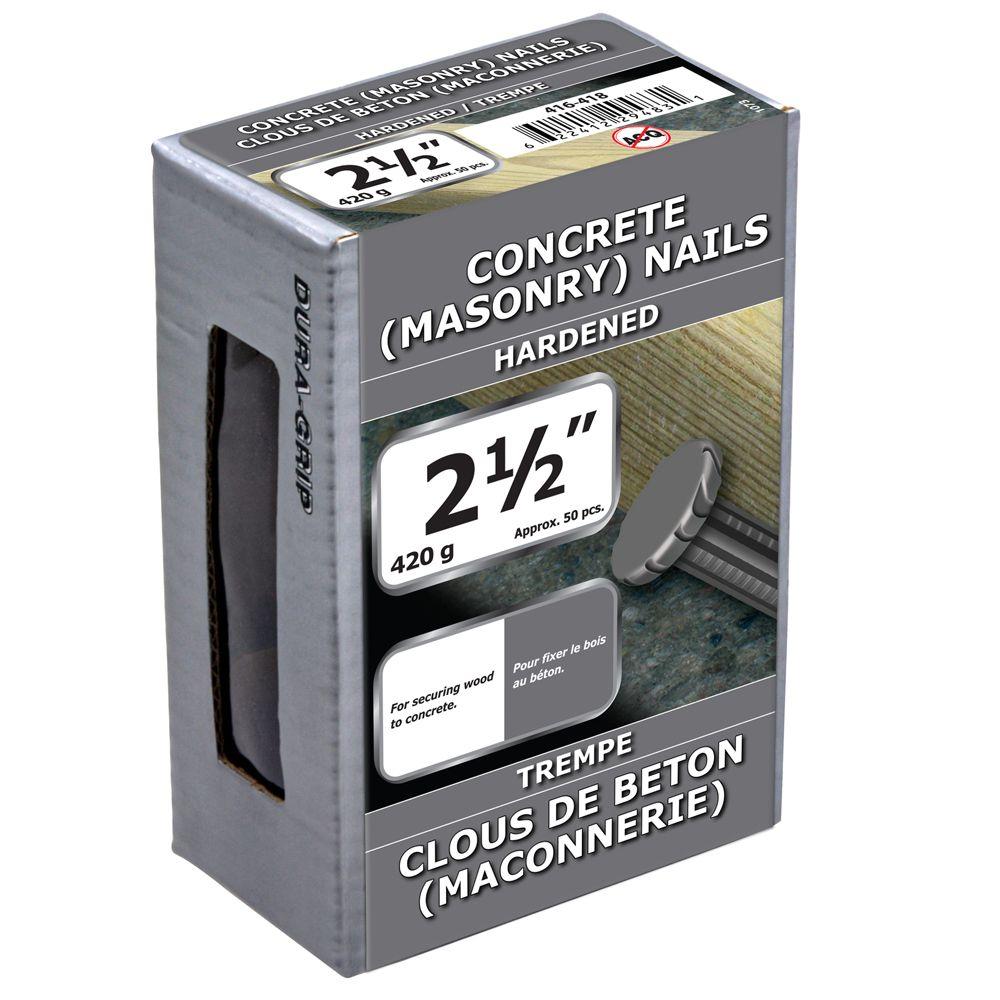 """2 1/2"""" Concrete 420g"""