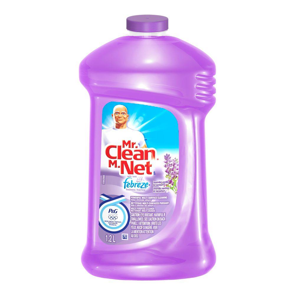 Mr. Clean W/Fbrz Vanilla 1.2L