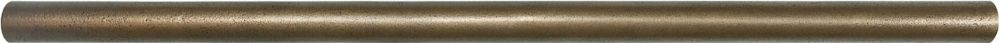 5/8X12 Cast Bronze Metal Pencil