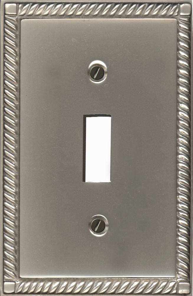 Toggle Solid Brass Pewter Finish