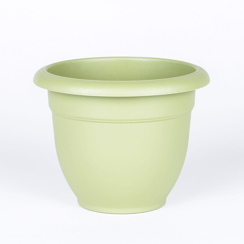 Foliera Round Panna 12 Inch Ceramic Pot The Home Depot