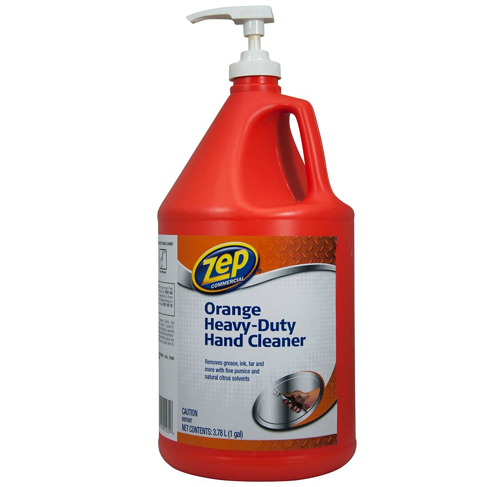 Zep Commercial Orange Heavy Duty Hand Cleaner 3 78 L