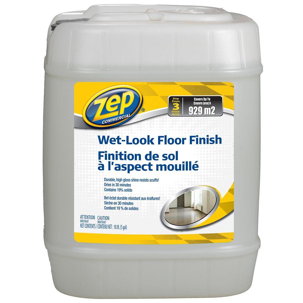 Wet Look Floor Finish - 18.9 L