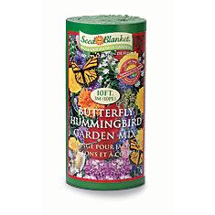 Seed in a Blanket - Butterfly/Hummingbird Garden Mix