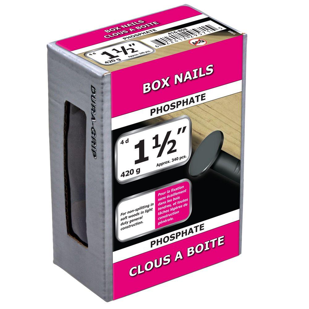 "1 1/2"" Box Nail Phosphate 420g"