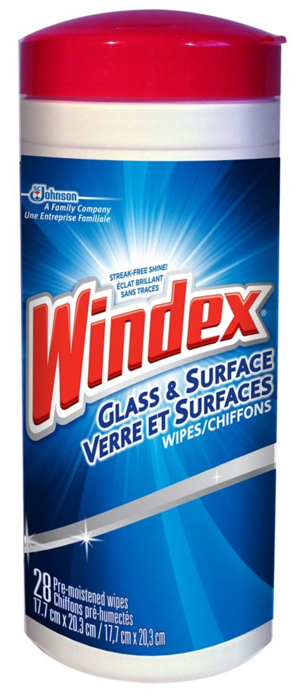 Glass & Surface Wipes
