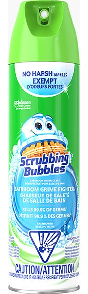 Scrubbing Bubbles Bathroom Aerosol Fresh Scent The Home Depot Canada