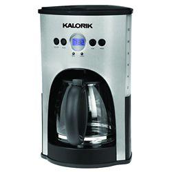 Kalorik Red Programmable 12 Cup Coffee Maker