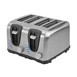 Kalorik 4-Slice Toaster in Stainless Steel