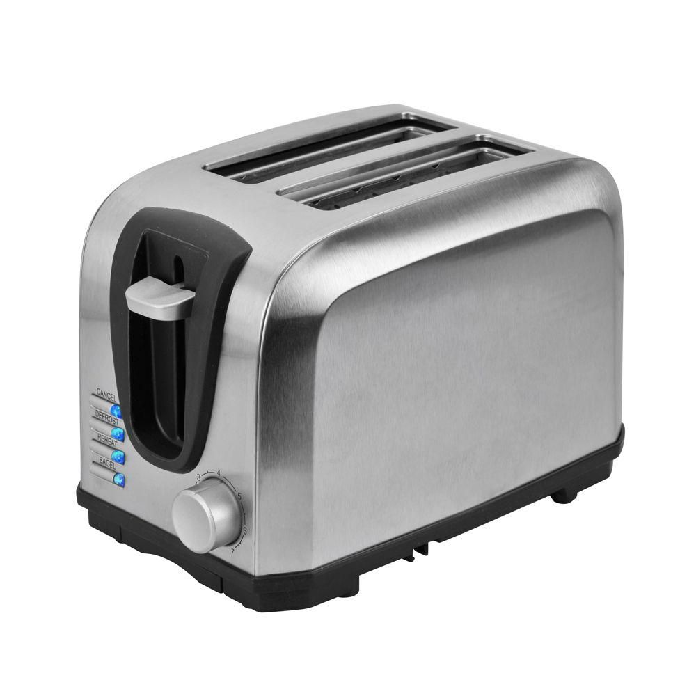 Kalorik 2-Slice Toaster in Stainless Steel