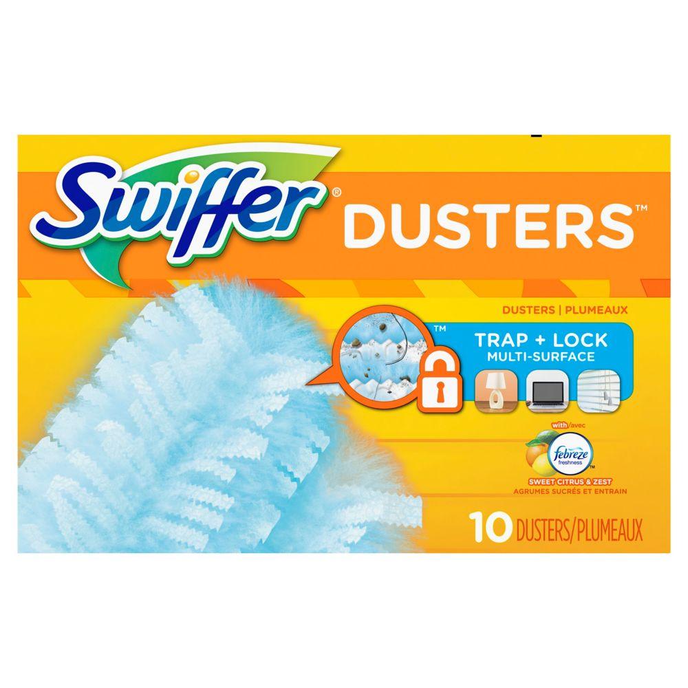 Swiffer Duster Citrus & Lght 10Ct
