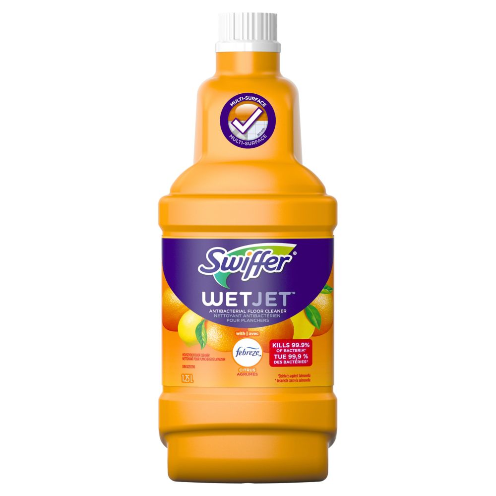 Swiffer WetJet Citrus & Light