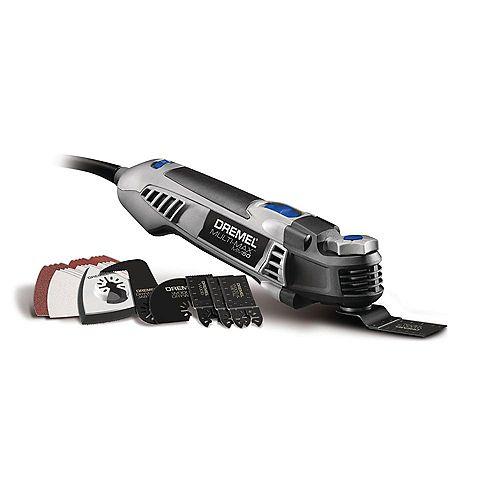 Dremel Multi-Max MM50 Kit d'outils oscillants avec 15 accessoires