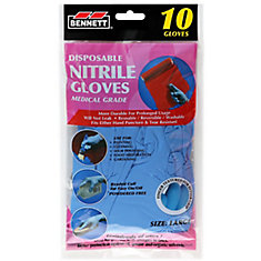 Nitrile Disposable Gloves 10pk
