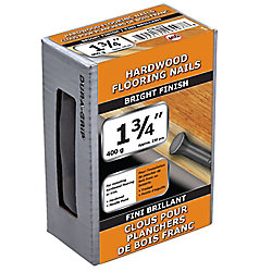 Paulin 1 3/4-inch (5d) Hardwood Flooring Nail-Bright Plated-400g (approx. 230  pieces per package)