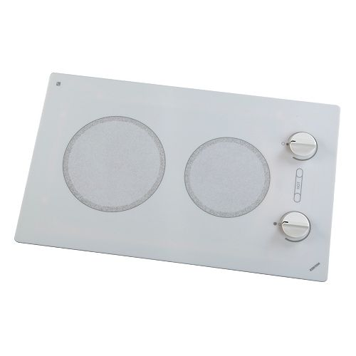 Kenyon Alpine series - round Edge - 2 burner white 208V